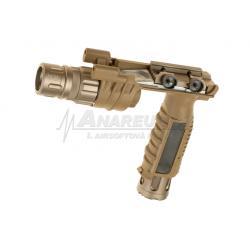 Taktická svítilna s rukojetí M900W - písková