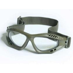Brýle Commando AIR - olivové - čiré