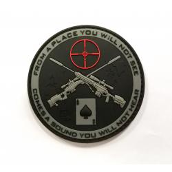 Nášivka Sniper Patch, blackops velcro