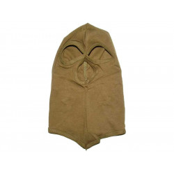 Balaclava 3 holes COTTON OLIVE