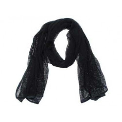 BARRACUDA scarf extra soft BLACK
