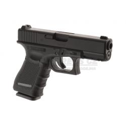Glock 19 Gen4 - Metal slide, GBB - BLACK (Glock Licensed)