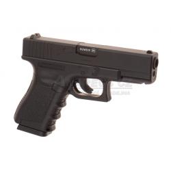 Glock 19 CO2 - Metal slide - NON Blowback, BLACK (Glock Licensed)