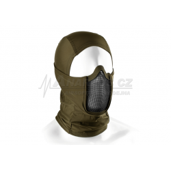 Mk.III Balaclava with Steel Half Face Mask ( OD )