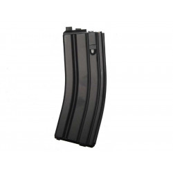 WE 30 Rds CO2 Magazine for M4 Open-Chamber GBBR ( Black )