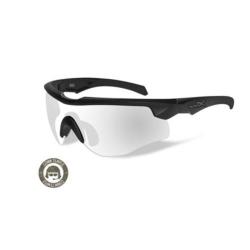 Brýle ROGUE Clear/Com. Temp. Matte black frame