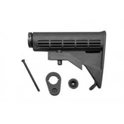 M4A1 6 Position Sliding Buttstock (Black)