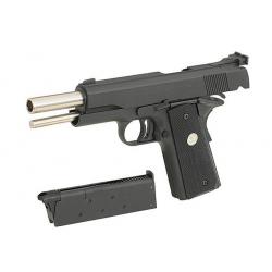 Full Metal M1911A1 GBB Pistol (BK)