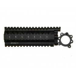Madbull Daniel Defense AR15 Lite Rail 7.0 for Marui System M4 / M16 AEG ( Black )