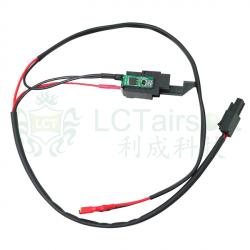 LCT kabeláž V3 nad mechabox s Mosfetem