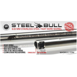Stainless Steel BARREL 6,03mm, 300mm (M733)