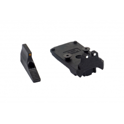 Action Army AAP01 steel RMR Adapter and front sight set