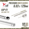 Action Army EG Barrel for AAP01 (129mm)6.03