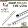 Precizní hlaveň Action Army 6,03 pro AAP01 (200mm)