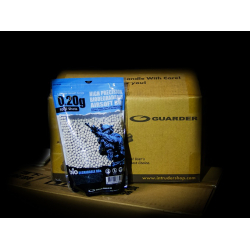 6mm 0,20g Biodegradable Airsoft BBs (5000 rounds, BOX 15PCS)