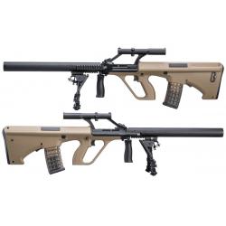Steyr Aug with silencer (SW-020-AM) - TAN