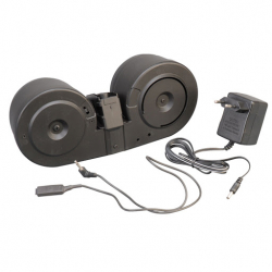 A&K 2500Rds Dual Drum Mag for G3 Series ( Sound Activited )