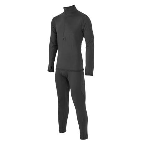 Set of functional underwear and T-shirt LEVEL 2 BLACK