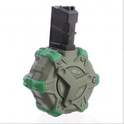 Zásobník plynový na 350 ran pro WE M4/M16 Open bolt