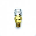 HPA QD Coupling (Foster) Female - Male Thread - Lockable