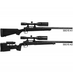 Novritsch SSG10 A2, 5J Airsoft Sniper Rifle (733fps, M220)
