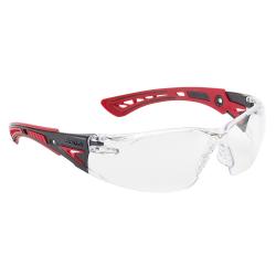 Brýle ochranné BOLLE RUSH+ červené