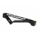 BlackCat Aluminum Angled Grip for Keymod Rail System ( Black )
