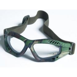 Glasses AIR COMMANDO Mil-Tec WOODLAND clear
