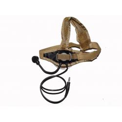 Taktický headset TASC, pískový