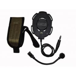 Taktický headset Elite III, černý