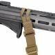 Popruh Carbine Sling 2-bodový, průvlečný - zelený