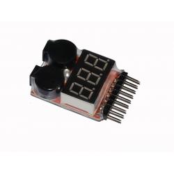 Li-Po alarm for 2-8 cells