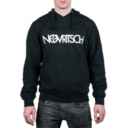 Mikina Novritsch s kapucí - černá