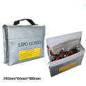 Safety Bag 65x180x240mm for Li-pol battery