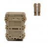 Plastová MOLLE sumka na 5.56 zásobníky M4/M16 - TAN