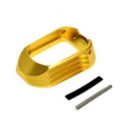 CowCow T01 CNC hliníková zásobníková šachta/magwell pro Marui Hi-Capa, zlatý