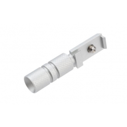 UAC CNC hliníková natahovací páka závěru pro Marui Hi-Capa, stříbrná