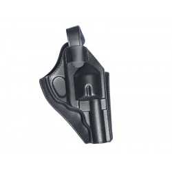 "Belt holster for 2.5""- 4"" Revolver, black"