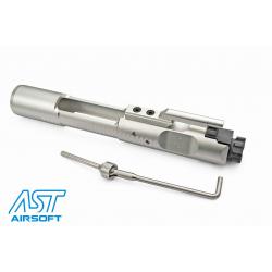 Magnetic Locking NPAS set pístnice/trysky se závěrem pro GHK M4 - stříbrný