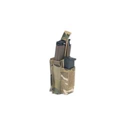 Single MOLLE Open Pouch, Multicam, AR15/M4/M16+pistol