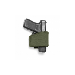 Universal Pistol Holster UPH, green, right side