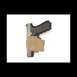 Universal Pistol Holster UPH, coyote, left side