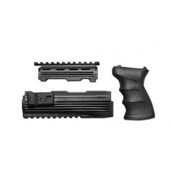 AK47 Handguard & Grip (Black)