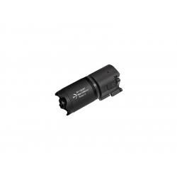 B&T Rotex-V Blast Deflector 95mm QD silencer, Black