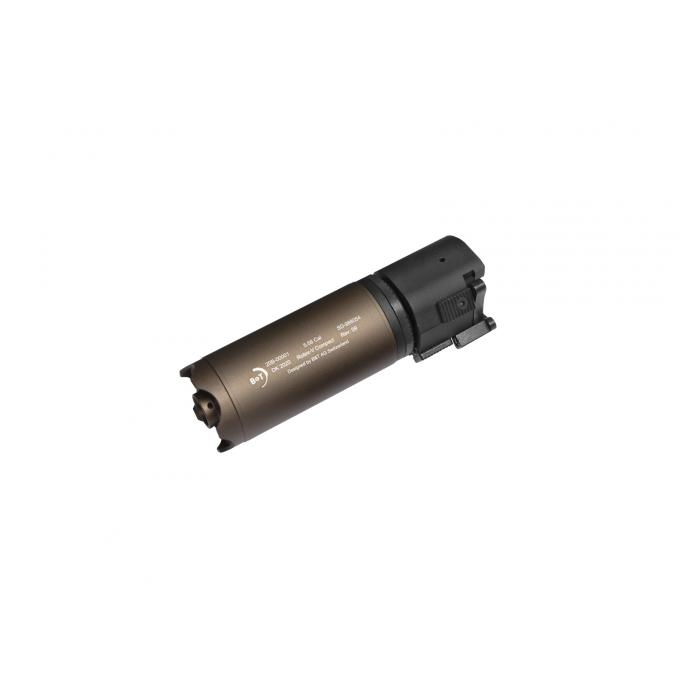B&T Rotex-V Compact 130mm - rychloupínací tlumič, pískový