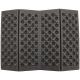 Folding thermomatte 39x30cm BLACK