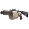 LDT MGL Grenade Launcher with Retractable Stock - Dark Earth
