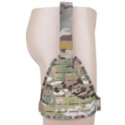 WST Laser version tactical leg wrappings - Black