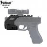 Montáž kolimátoru GB-49 s RIS pro Glock 17/18/19 - černá