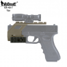 Montáž kolimátoru GB-49 s RIS pro Glock 17/18/19 - písková